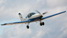 Парный полет на самолете NG-4